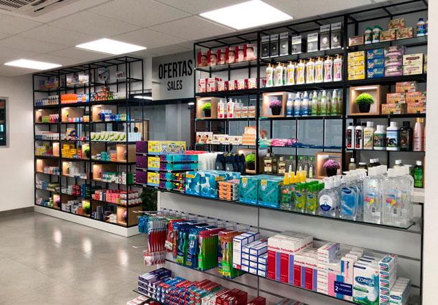 Muebles de farmacia de calidad