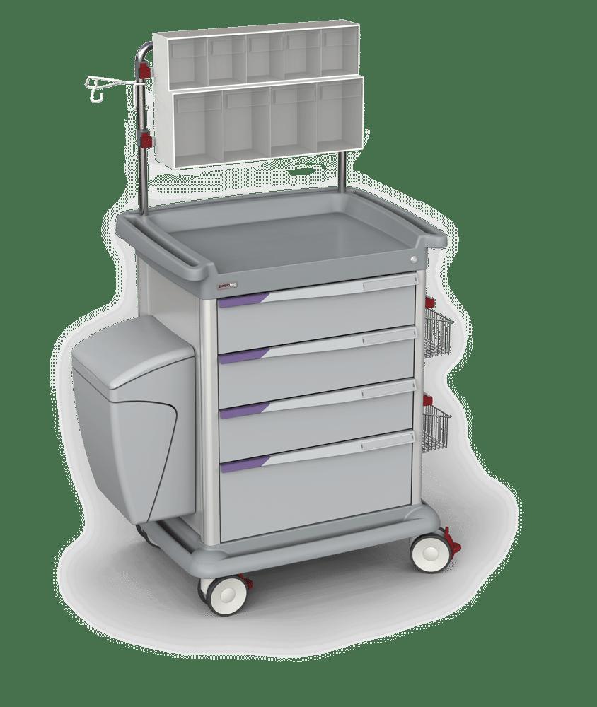 Carro de almacenamiento configurable